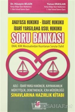 Anayasa Hukuku İdare Hukuku İdari Yargılama Usul Hukuku Soru Bankası