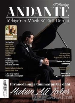 Andante Müzik Dergisi Sayı: 133 Kasım 2017