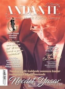 Andante Müzik Dergisi Sayı: 134 Yıl:15 Aralık 2017
