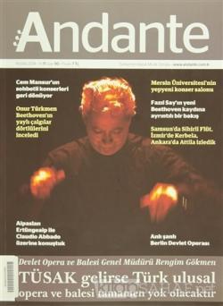 Andante Müzik Dergisi Sayı: 90 Nisan 2014