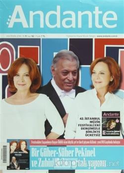 Andante Müzik Dergisi Sayı: 92 Haziran 2014