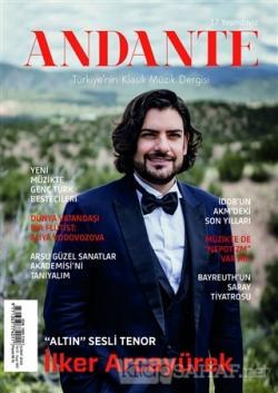 Andante Müzik Dergisi Yıl: 17 Sayı: 160 Şubat 2020