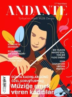 Andante Müzik Dergisi Yıl: 18 Sayı: 161 Mart 2020
