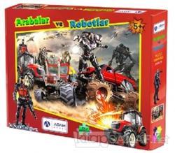 Arabalar ve Robotlar 150 Parça Puzzle