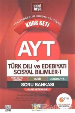 AYT Türk Dili ve Edebiyatı Sosyal Bilimler - 1 Kurs Seti Soru Bankası