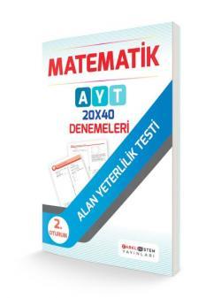 Farklı Sistem AYT Matematik 20x40 Denemeleri