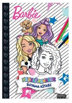 Barbie Neşeli Renkler Boyama Kitabı