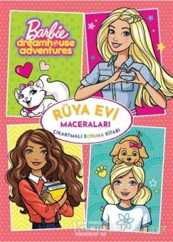 Barbie Rüya Evi Maceraları Çıkartmalı Boyama Kitabı