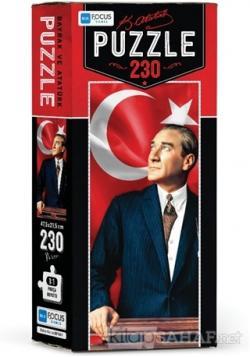 Bayrak ve Atatürk - Puzzle (BF161)