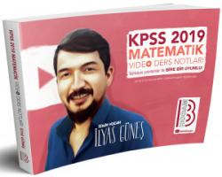 Benim Hocam 2019 KPSS Matematik Video Ders Notları Yeni
