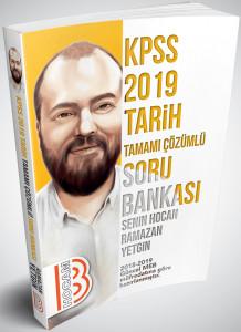 Benim Hocam 2019 KPSS Tarih Tamamı Çözümlü Soru Bankası Yeni