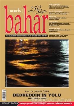 Berfin Bahar Aylık Kültür Sanat ve Edebiyat Dergisi Sayı 250 Aralık 2018