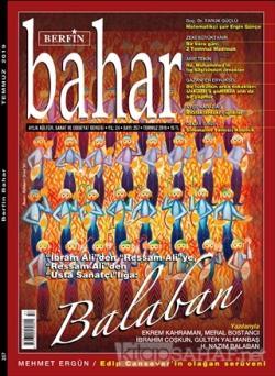 Berfin Bahar Aylık Kültür Sanat ve Edebiyat Dergisi Sayı 257 Temmuz 2019