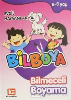 Bilboya Bilmeceli Boyama - Evcil Hayvanlar