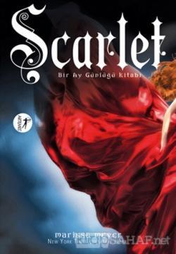 Bir Ay Günlüğü Kitabı : Scarlet