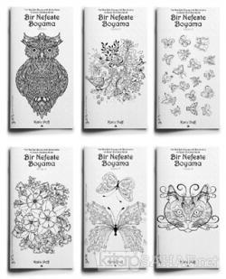 Buyukler Icin Boyama Mandala Kitaplari