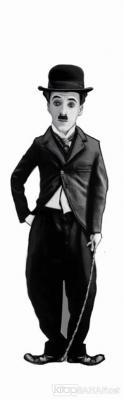 Charlie Chaplin (Karikatür) - Ayraç