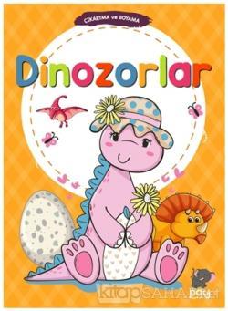 Çıkartma ve Boyama - Dinozorlar