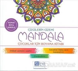 Çizgilerin Gizemi - Mandala Çocuklar İçin Boyama Kitabı