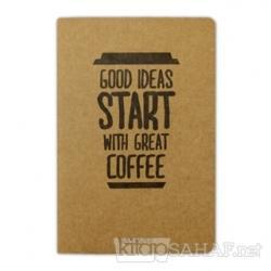 Coffee Good Ideas - Defter