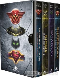 DC İkonlar Serisi - Kutulu Özel Set (4 Kitap Takım) (Ciltli)