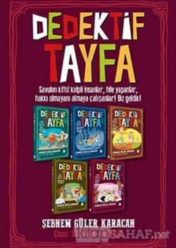 Dedektif Tayfa Seti (5 Kitap Takım)
