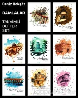 Deniz Dokgöz Damlalar Serisi 2021 Takvimli Defter Seti (8 Defter Takım)