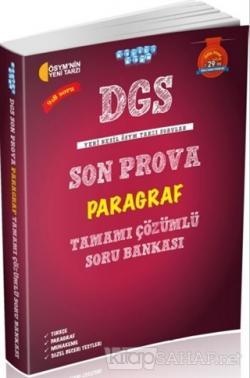 DGS Son Prova Paragraf Tamamı Çözümlü Soru Bankası