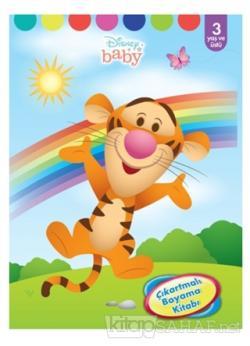Disney Baby - Çıkartmalı Boyama Kitabı - Kolektif | Yeni ve İkinci El