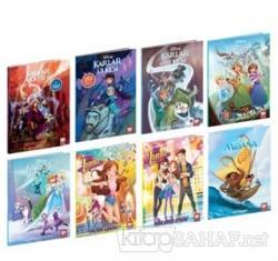 Disney Çizgi Klasikleri Kız Çocuk Seti (8 Kitap Takım)