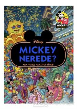Disney Mickey Nerede? Ara ve Bul Faaliyet Kitabı