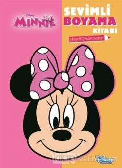 Disney Minnie - Sevimli Boyama Kitabı