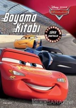 Disney Pixar Arabalar Boyama Kitabı Süper Çıkartmalar - Kolektif | Yen