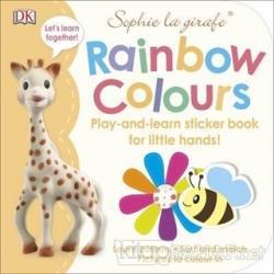DK - Sophie La Girafe Rainbow Colours