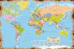 Dünya Haritası Poster