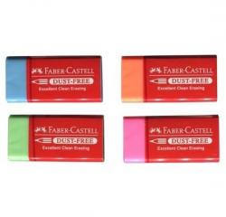 Faber-Castell Renkli Dust-Free Silgi 1 Adet