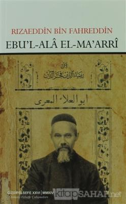 Ebu'l-Ala El-Ma'arri