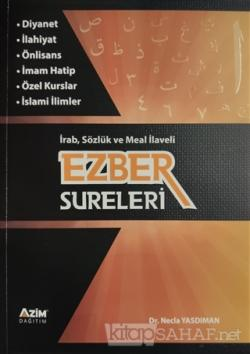 Ezber Sureleri - İrab Sözlük ve Meal İlaveli
