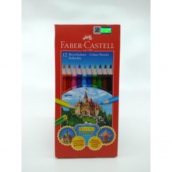 Faber-Castell Karton Kutu Kuru Boya Kalemi 12 Renk