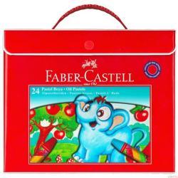 Faber-Castell Plastik Çantalı Pastel Boya 24 Renk