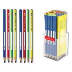 Faber Üçgen 2B Üçgen Kurşun Kalem Renkli