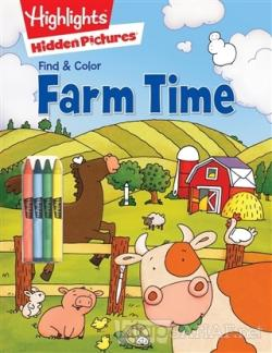 Farm Time - Find and Color