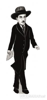 Fernando Pessoa (Karikatür) - Ayraç - | Yeni ve İkinci El Ucuz Kitabın