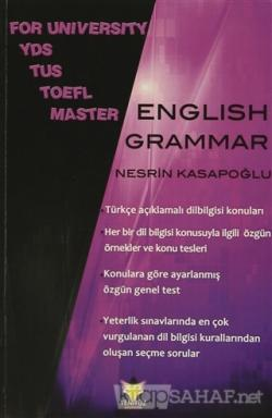 For University YDS TUS TOEFL Master English Grammar