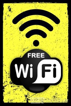 Free Wifi Poster