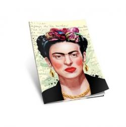 Frida Kahlo Yumuşak Kapaklı Defter