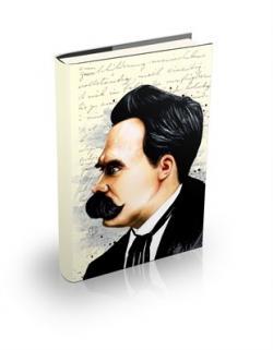 Friedrich Nietzsche Sert Kapaklı Defter