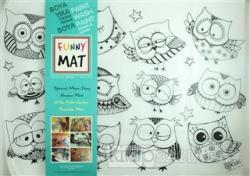 Funny Mat 1004 Şaşkın Baykuşlar