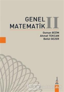 Genel Matematik 2 (Ciltli)