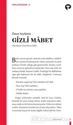 Gizli Mabet - Toplu Öyküleri 2